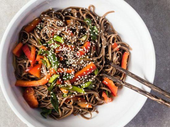 15 Minutes Soba Noodle Salad