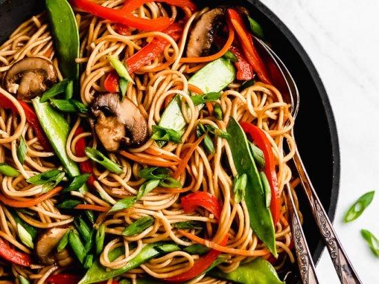 15-Minute Vegetable Lo Mein