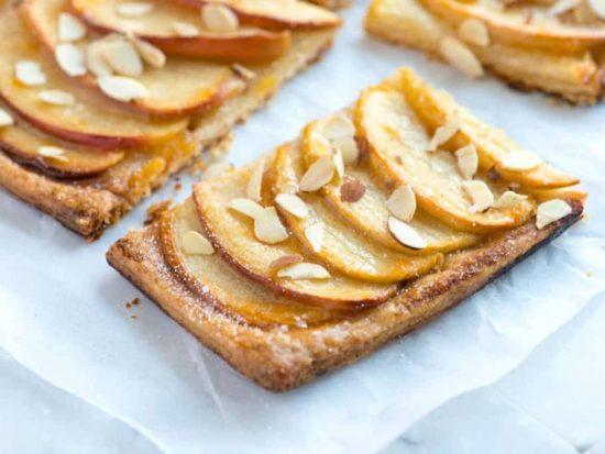 Simple Apple Tart Recipe with Flaky Crust