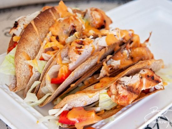 Thai Chili Chicken Tacos