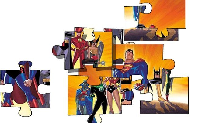 Superman-themed puzzle