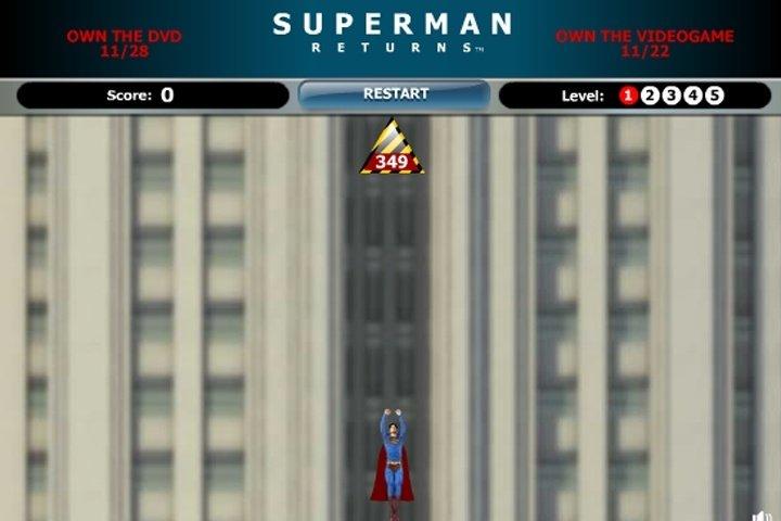 Superman Returns Save Metropolis game