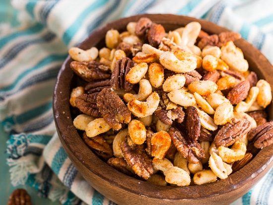 Cajun nuts