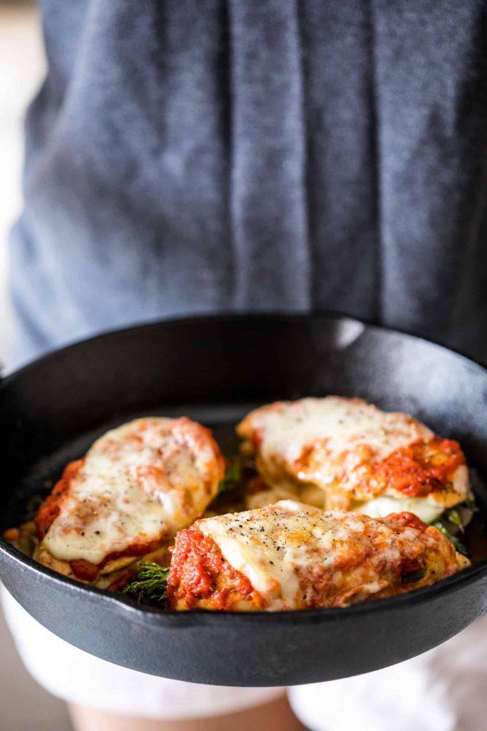 Asparagus Stuffed Chicken Parmesan Keto Gluten Free 30 Min 6