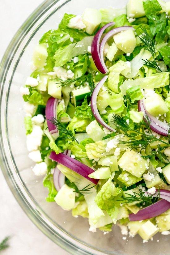 Feta Chopped Salad 1 6