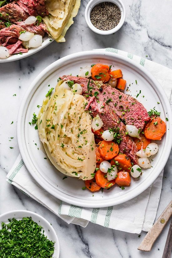 Instant Pot Corned Beef   Cabbage 9