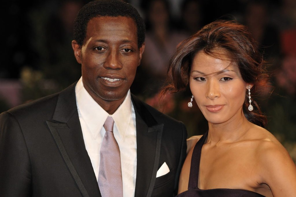 Wesley Snipes And Narkyung Park