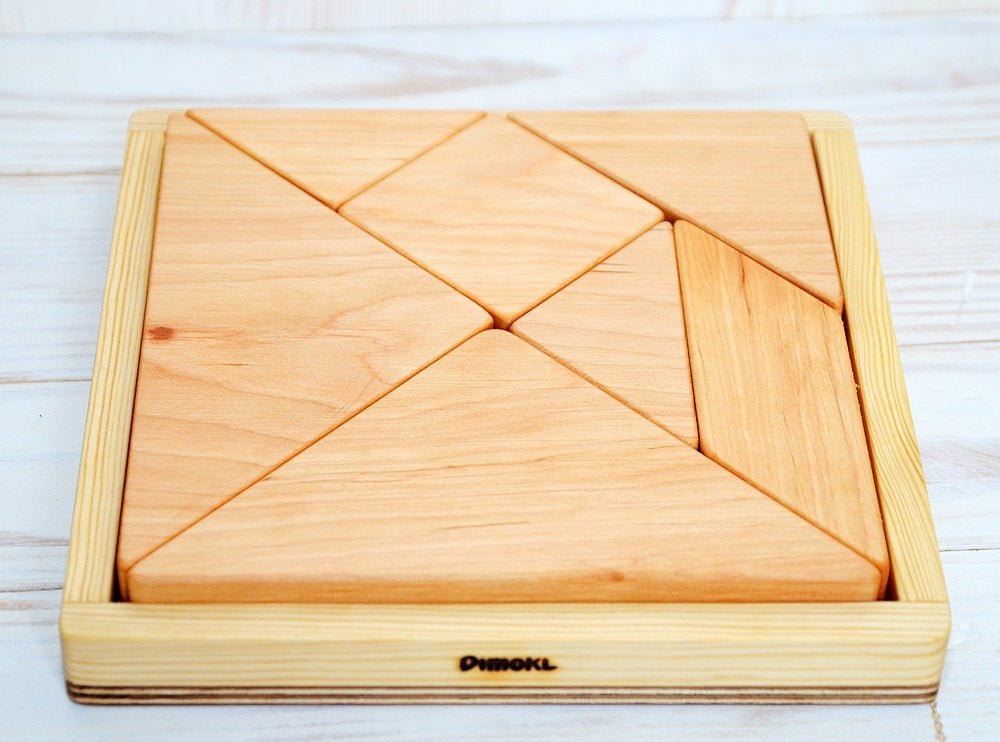 childrens wood puzzle
