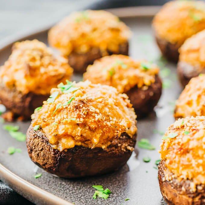 crab stuffed mushrooms 7