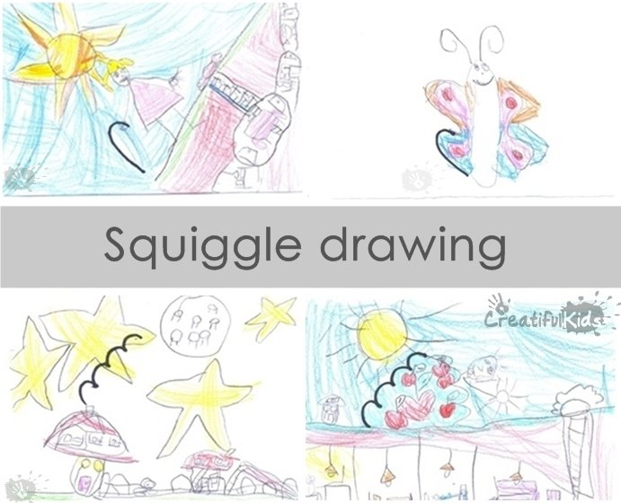 squiggle drawings