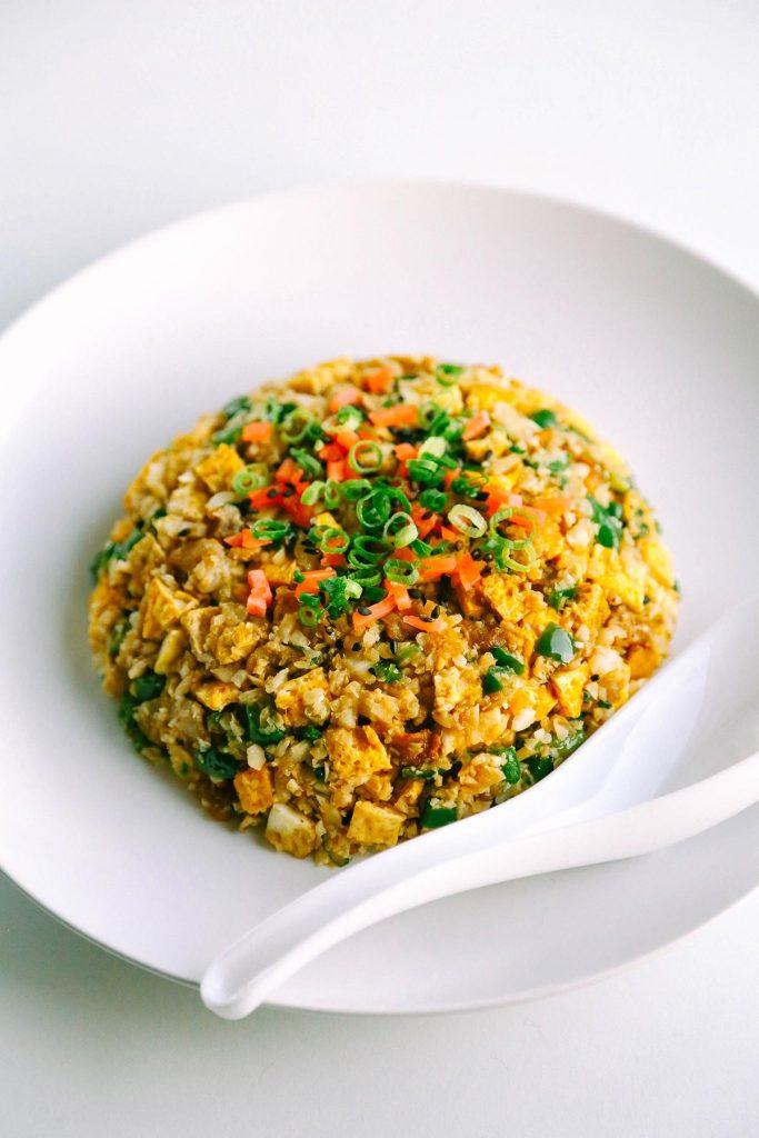 keto fried rice chahan caulirice 2