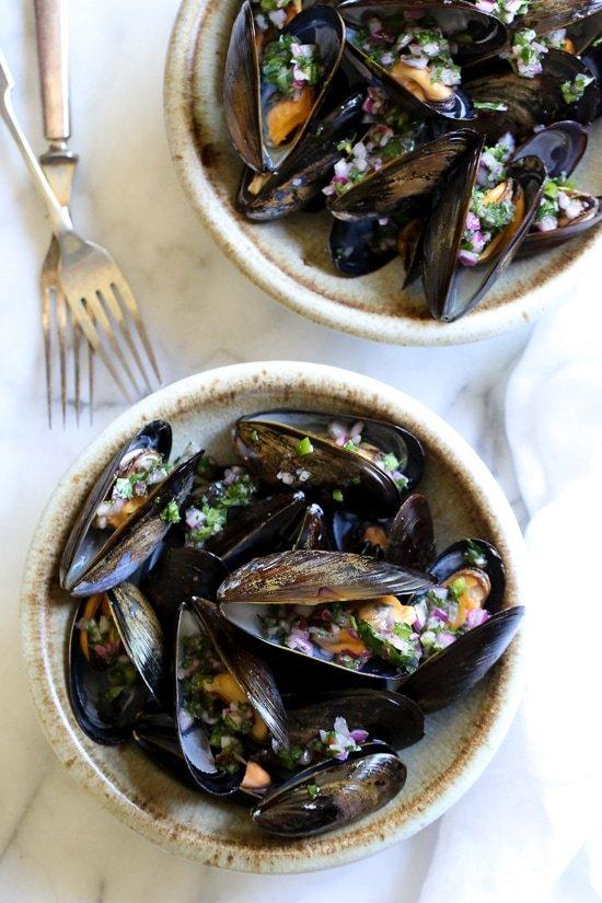 mussels with piri piri sauce 1