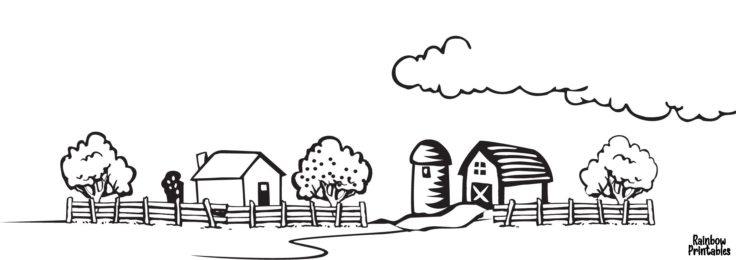 free-cartoon-line-art-world-city-farm-landscape-coloring-page-for-kids