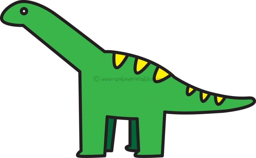 DINO Drawing Step by Step Final