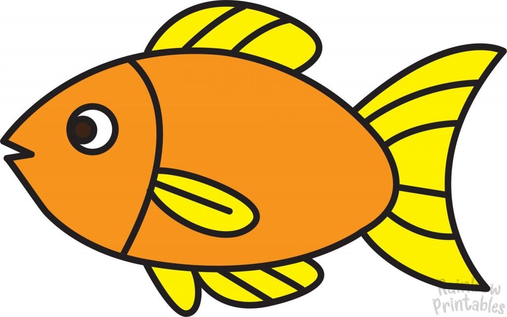 Fish Drawing Step by Step Final for Kids