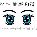 "How To Draw Japanese Cartoon ""Anime"" Eyes (Step By Step for Small Kids)"