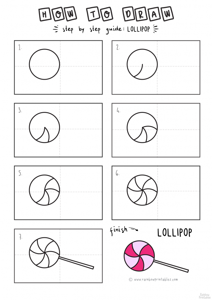 How-To-Draw-Cute-Lollipop-CANDY-for-Kids-Art-Tutorial-Steps-By-Step
