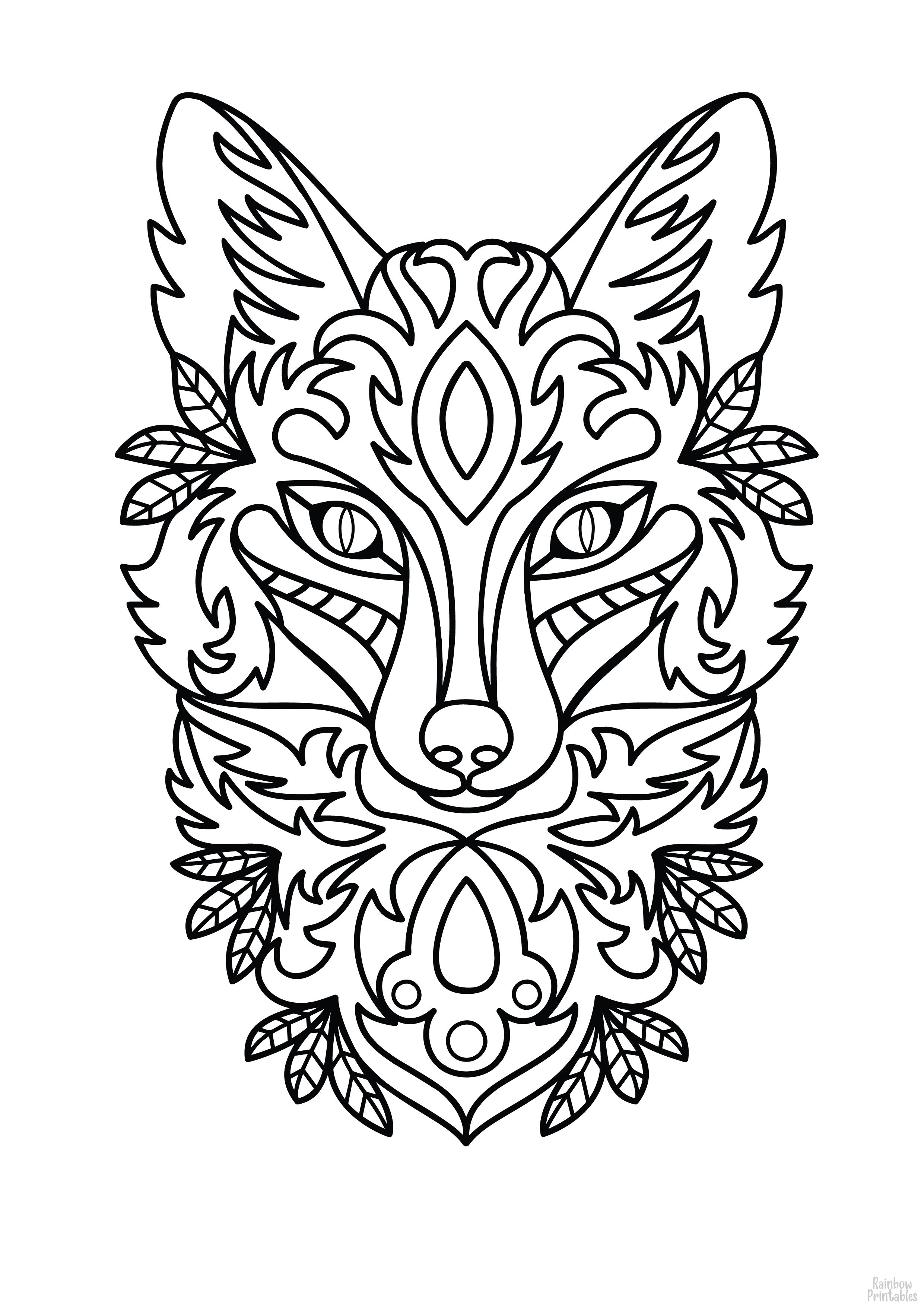 Mandala Set Coloring Pages for Kids Activity Game Boredom Buster 08