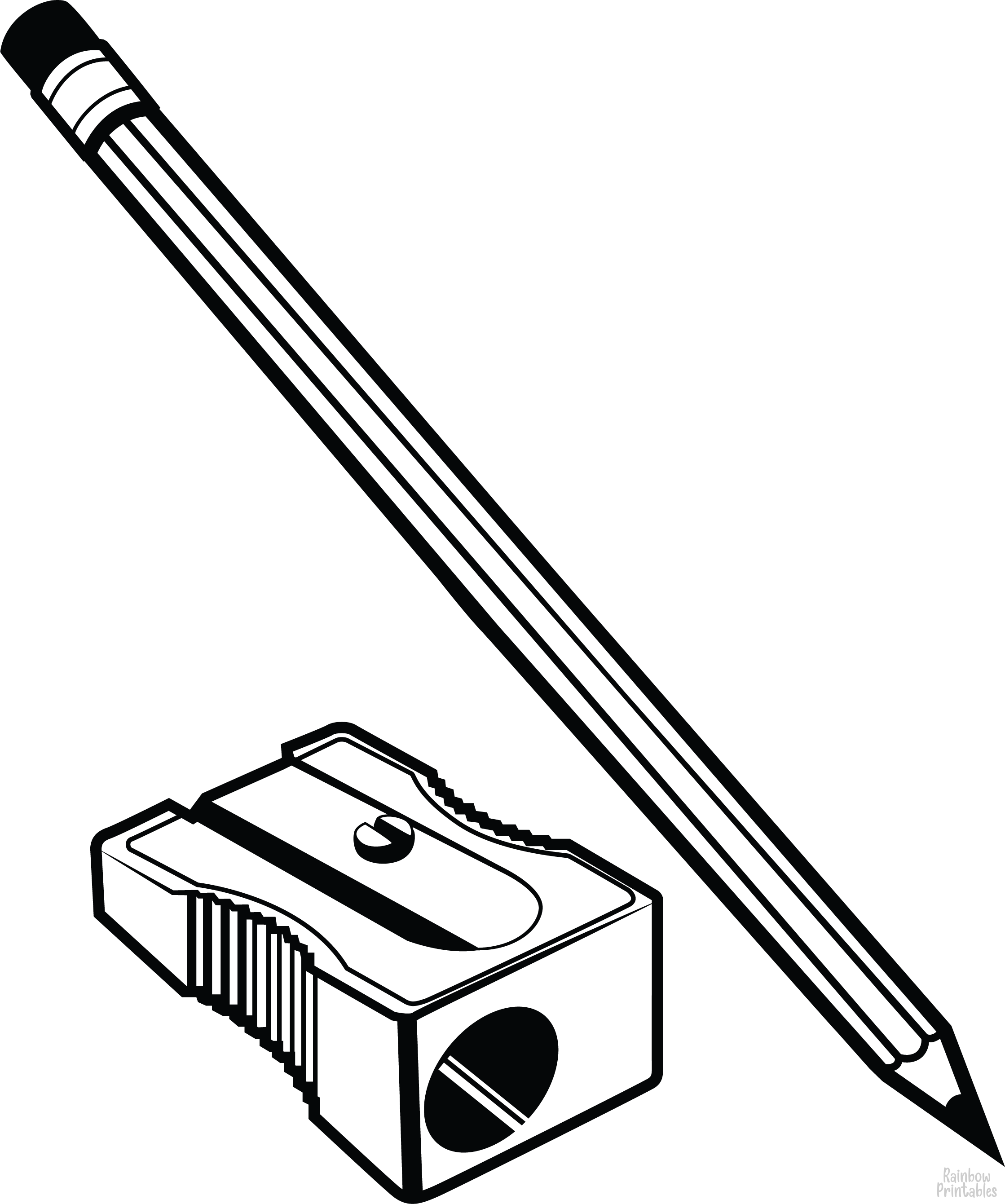 Free School Related Coloring Pages