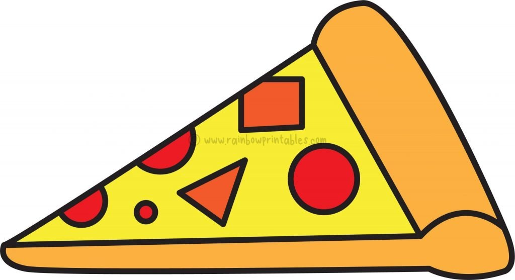Final-HOW TO DRAW PIZZA SLICE ART PROJECT STEP BY STEP FOR KIDS TUTORIAL