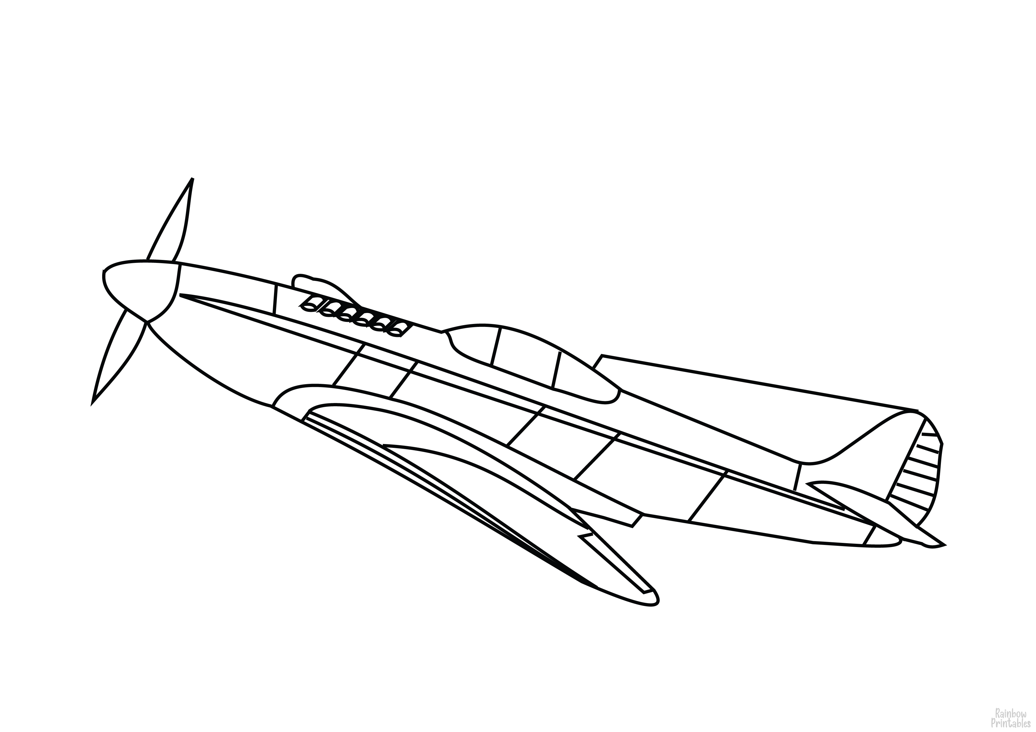 Cool Transportation Coloring Pages (Cars, Boats, Trains, Planes etc.)