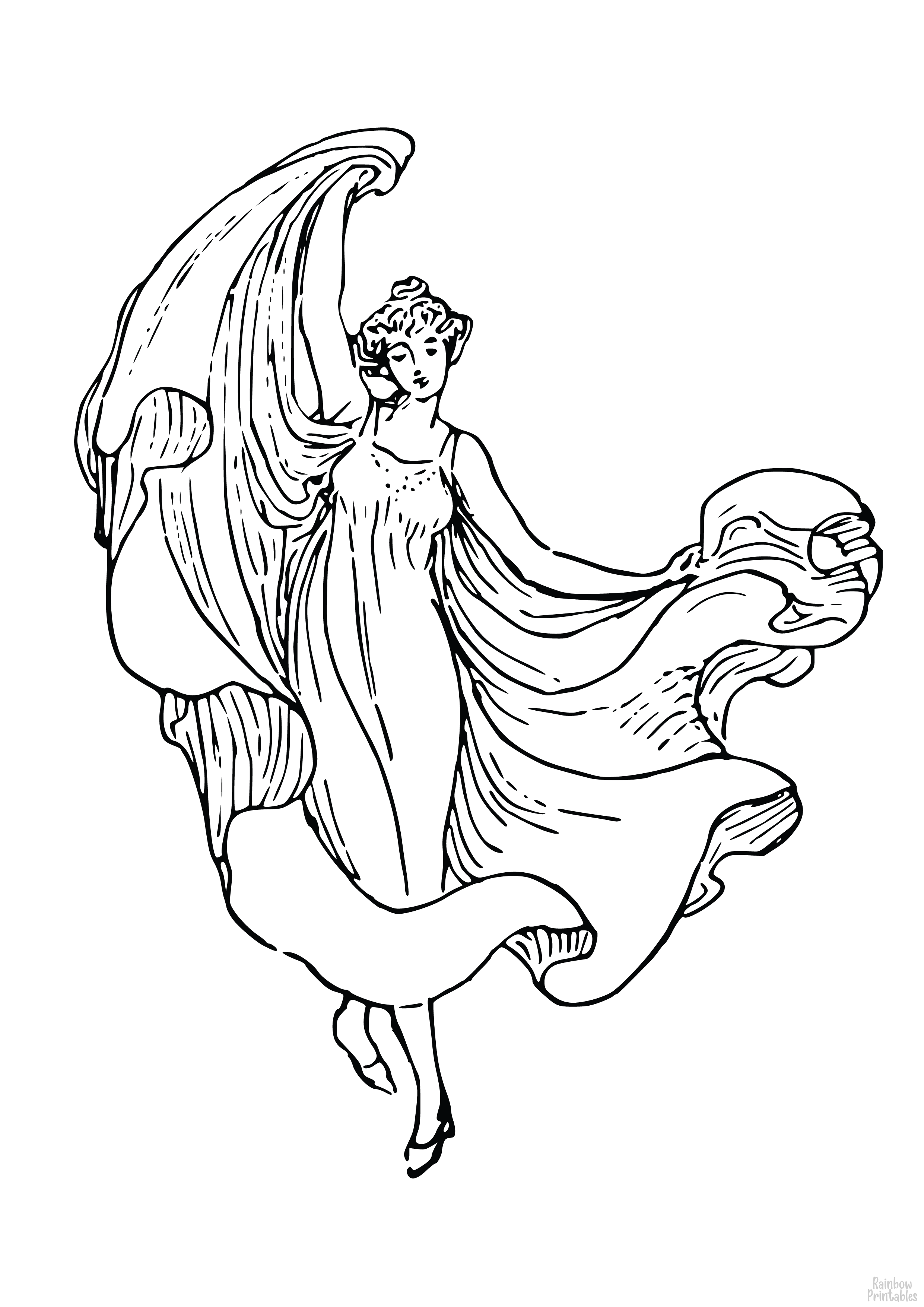 Free Hobbies + Sports Coloring Pages