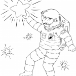 Space + Astronomy Coloring Pages