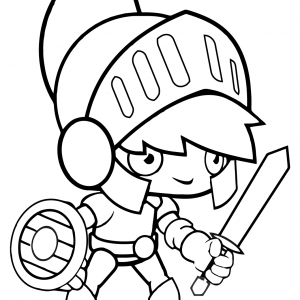 CARTOON ROmaN SOLDIER Figure Free Clipart Coloring Pages for Kids Adults Art Activities Line Art