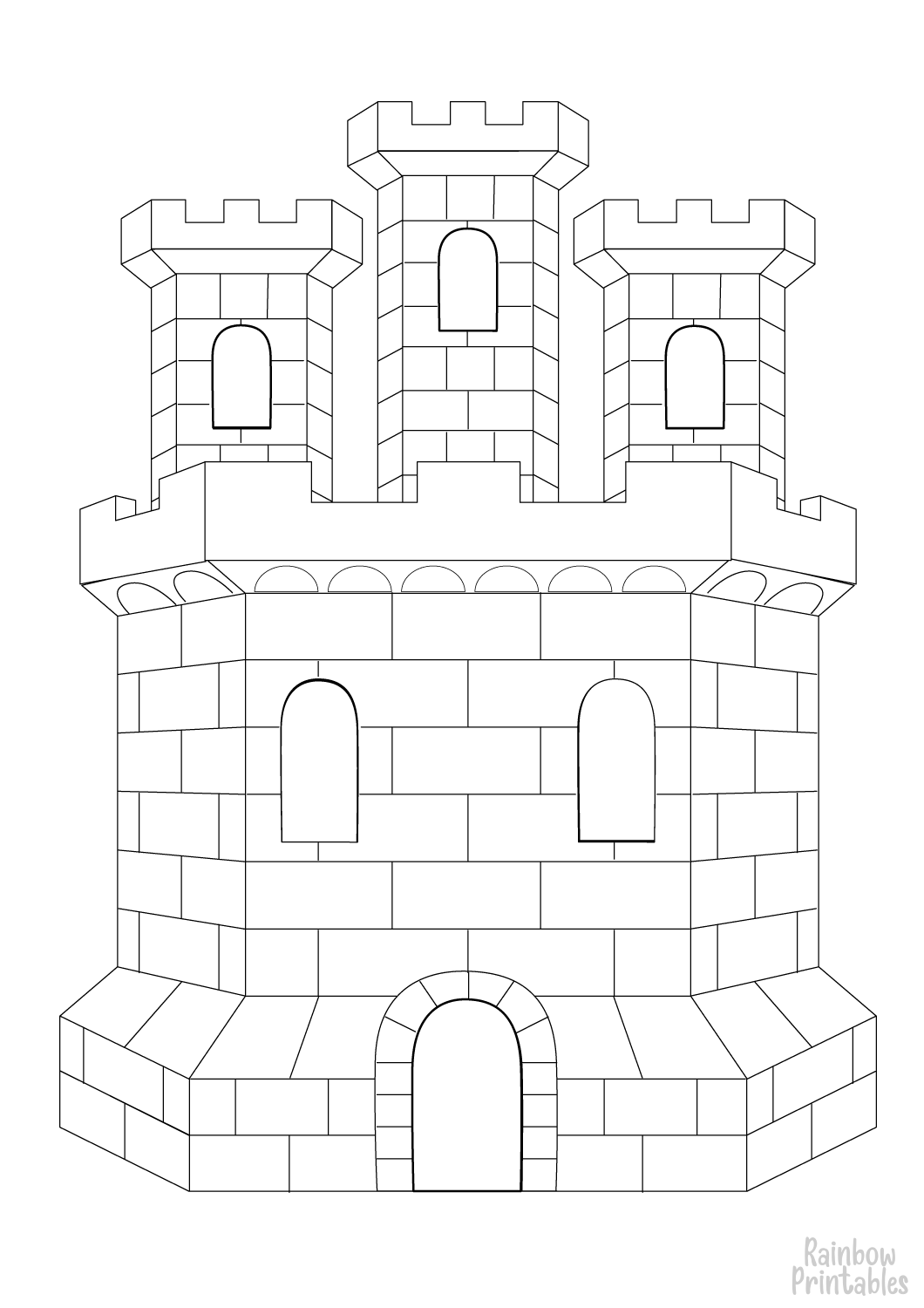 cartoon-line-art-world-castle-coloring-page-for-kids
