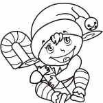 Holiday Themed Coloring Pages