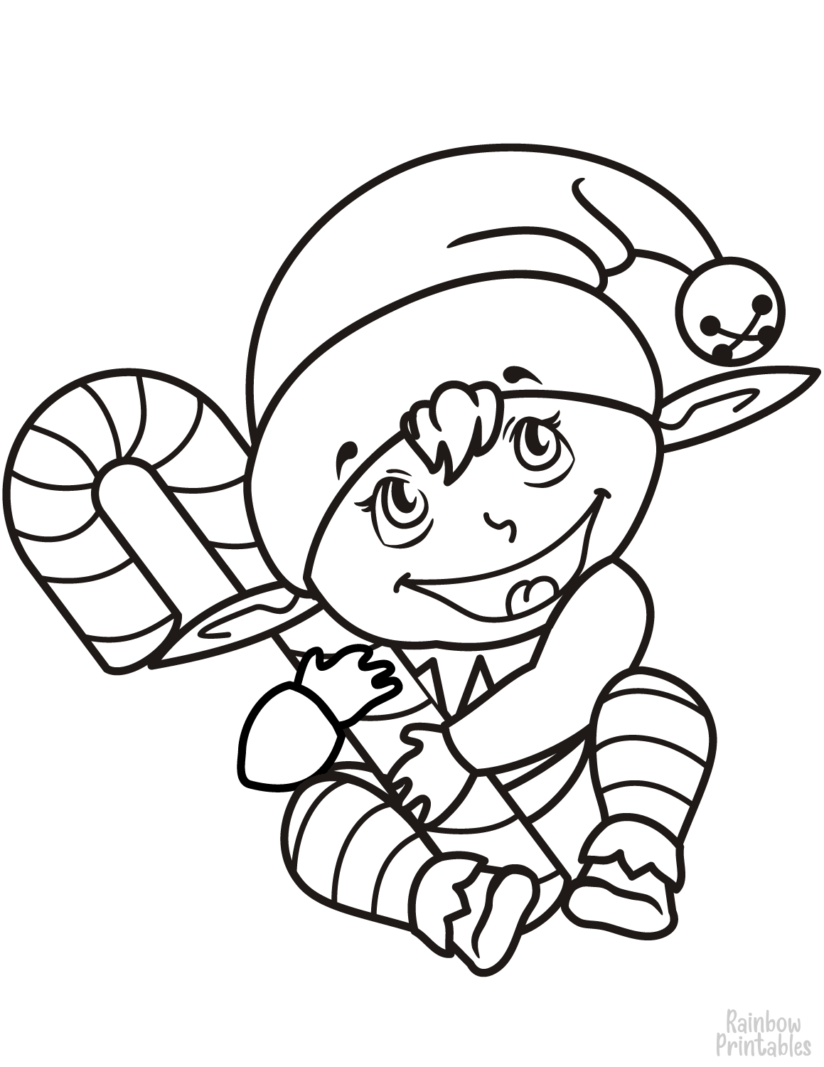 Holiday & Celebrations Themed Coloring Pages