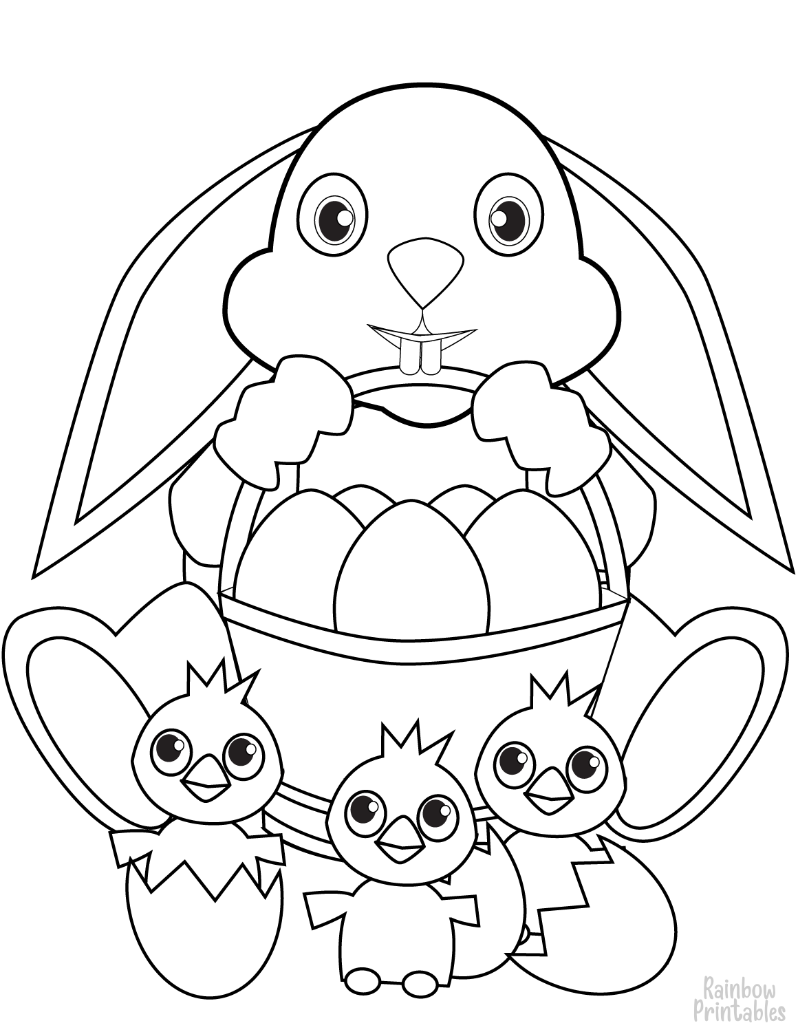 Easter Rainbow Printables