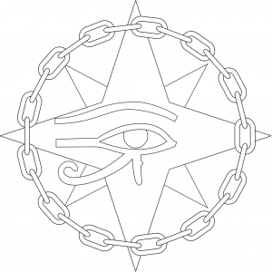 EGYPTIAN-EYE OF RA-CLipart-Cartoon-Free-Clipart-Line-Drawing-coloring-page-Activity-For-Kids