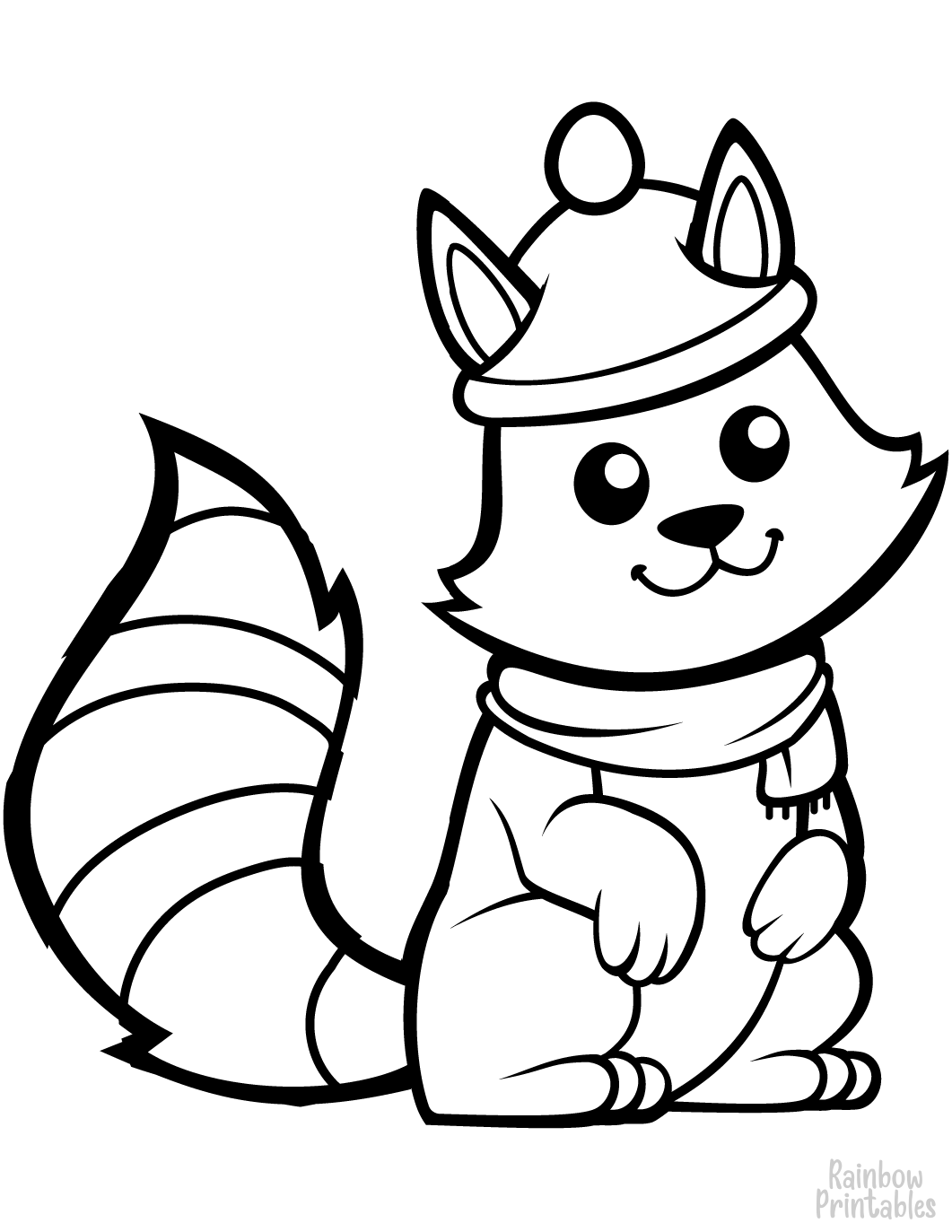 Free Seasonal Coloring Pages (Spring, Summer, Fall, Winter)