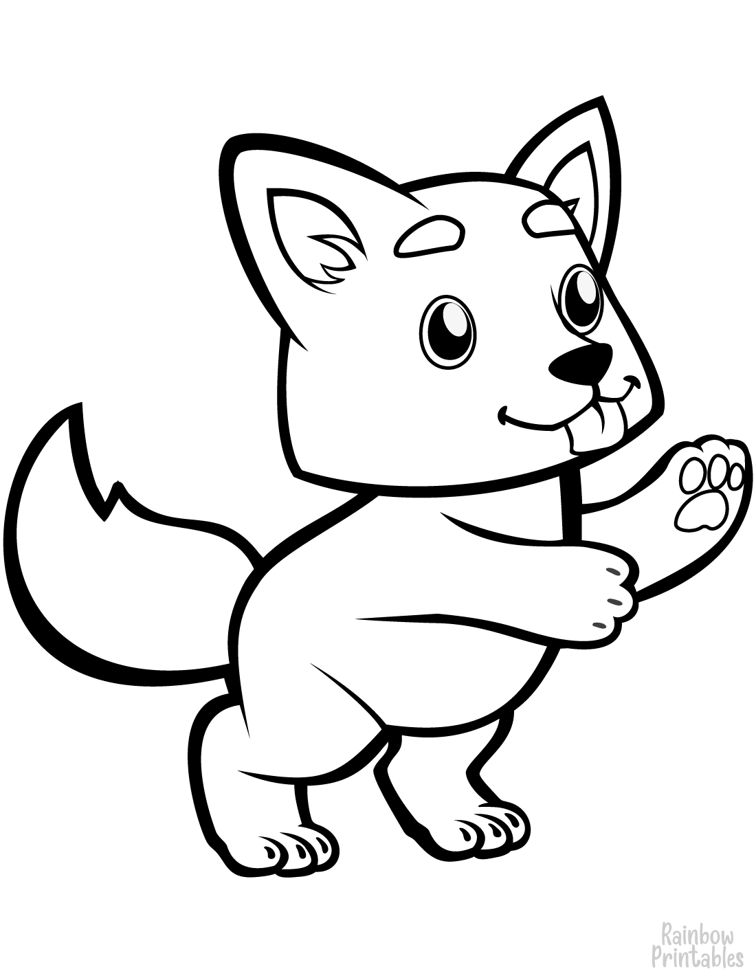 100+ Free Animal Coloring Pages for Kids