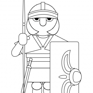 KNIGHT Free Clipart Coloring Pages for Kids Adults Art Activities Line Art