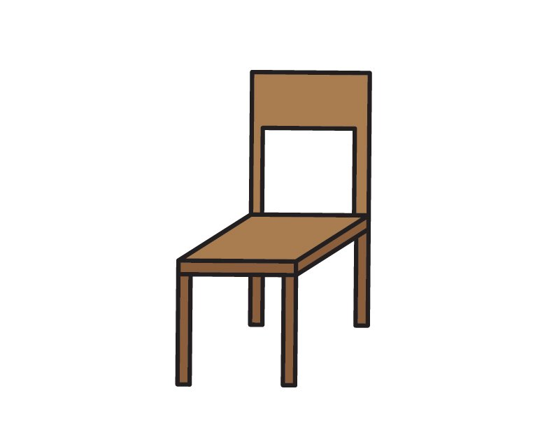 How To Draw Tutorials FOR Kids SIMPLE EASY CHAIR ART GUIDE STEP BY STEP