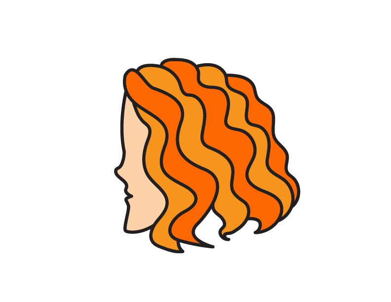 How To Draw Cartoon Style Wavy Hair (Easy Peasy for Young Kids)