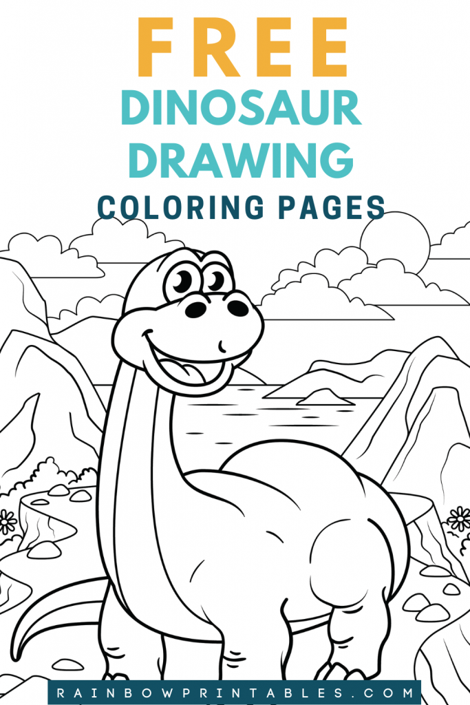 What a perfect way to occupy little kids on a rainy day! Download and print out instantly these dino pages #freebie. LOVE it~~ | Cute dinosaur doodles perfect for kids, both boys and girls. We have brachiosaurs IGUANODON and nodosaurus. - Easy, images, cartoon, PRINTABLE, art activity for children, illustration, lesson, pet