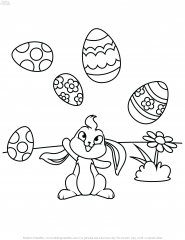 EASTER COLORING PAGES FOR KIDS ACTIVITY PRINTABLE CHRISTIAN ART 19