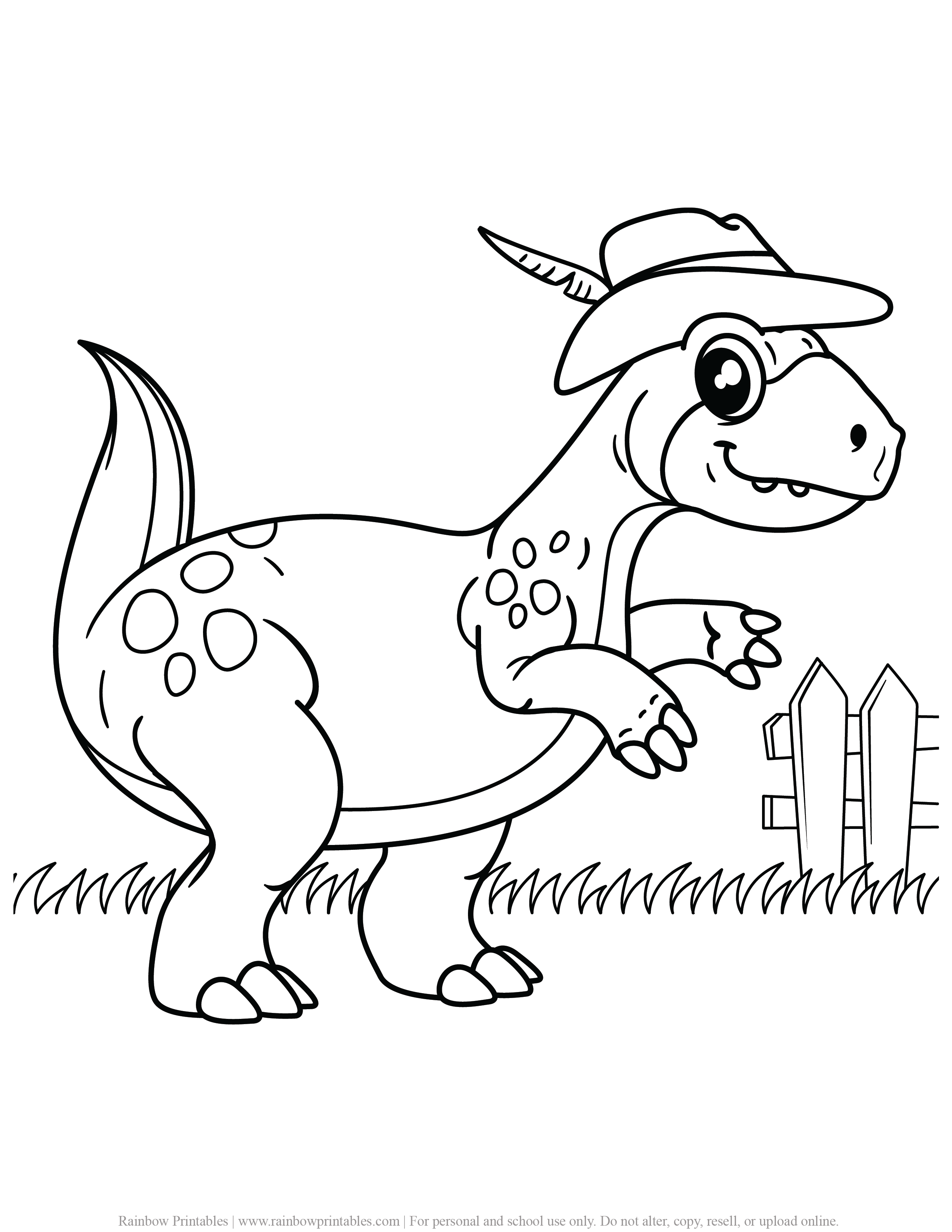 FREE DINOSAUR COLORING PAGES ACTIVITY FOR KIDS AND BOYS DINO DRAGON PRINTABLE-09