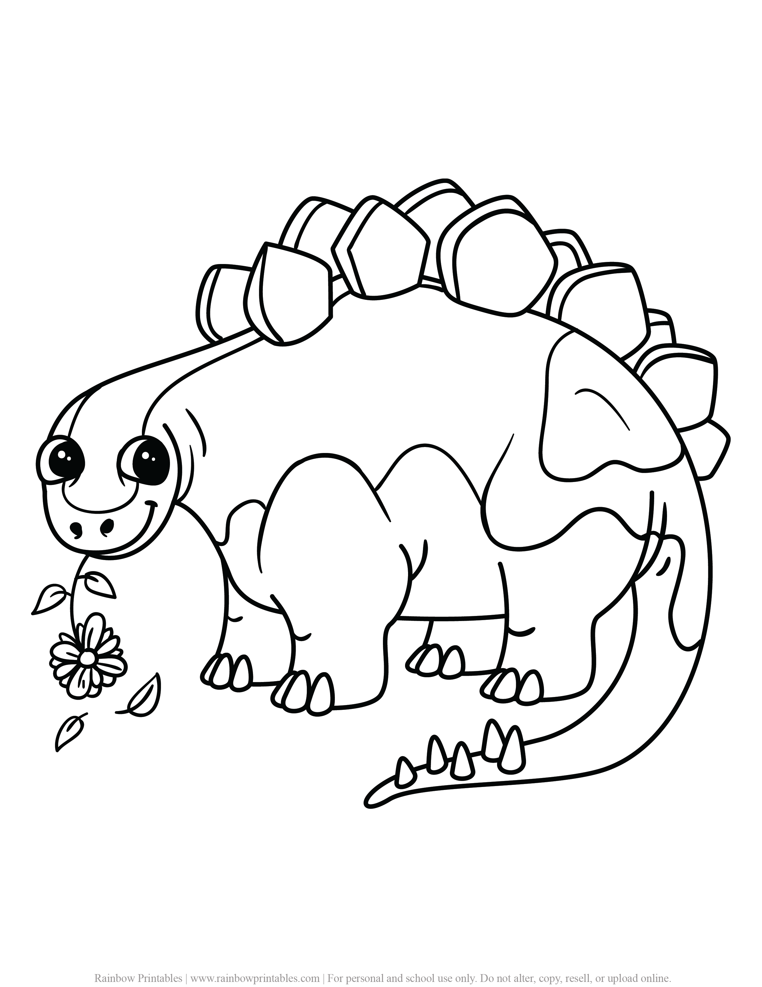 FREE DINOSAUR COLORING PAGES ACTIVITY FOR KIDS AND BOYS DINO DRAGON PRINTABLE-11