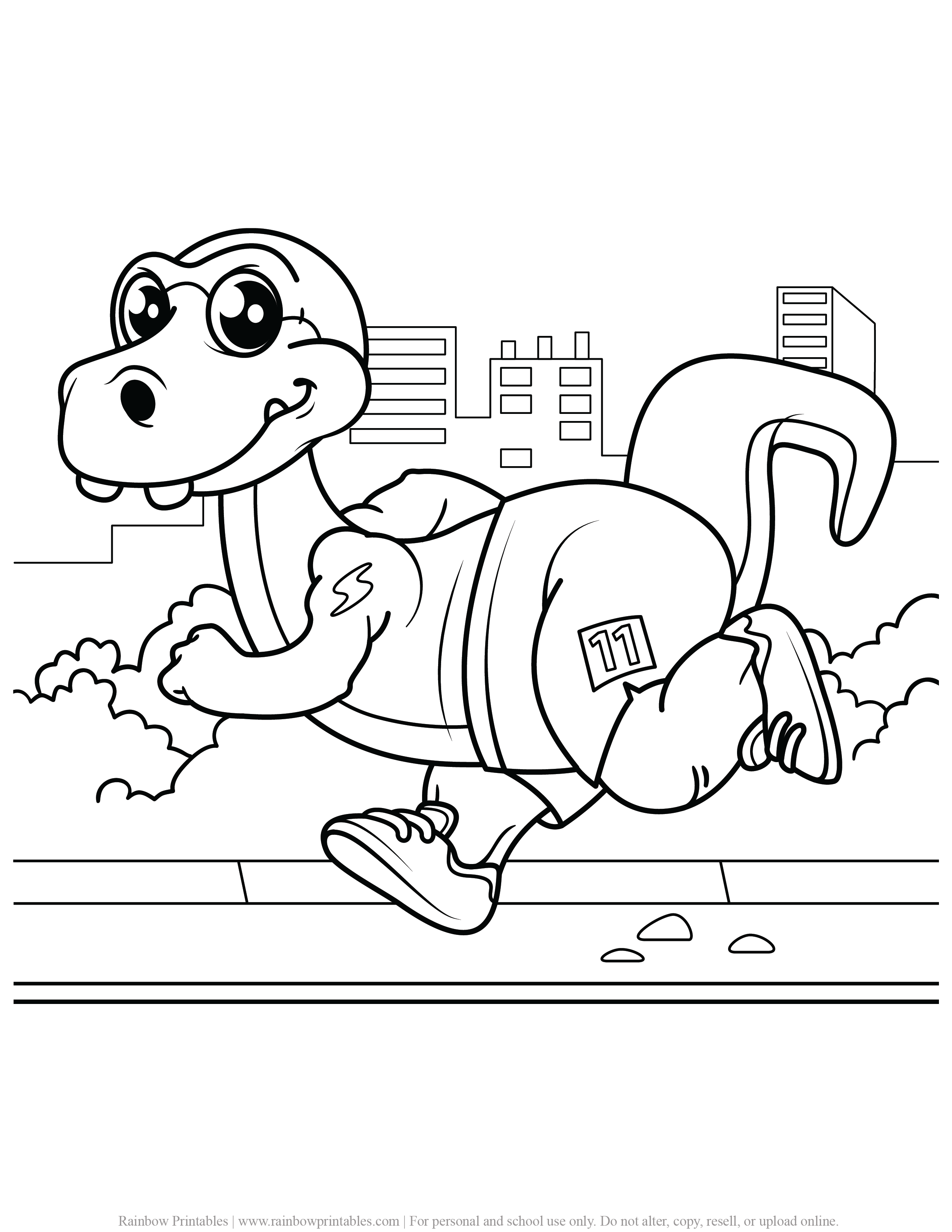 FREE DINOSAUR COLORING PAGES ACTIVITY FOR KIDS AND BOYS DINO DRAGON PRINTABLE-22