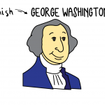 How To Draw George Washington For Kids (The First President & Founding Father)