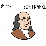 How To Draw Ben Franklin (U.S. Founding Father) Step By Step for Kids