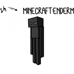 How To Draw Minecraft Mob's Enderman (Easy Simple Drawing Guide)