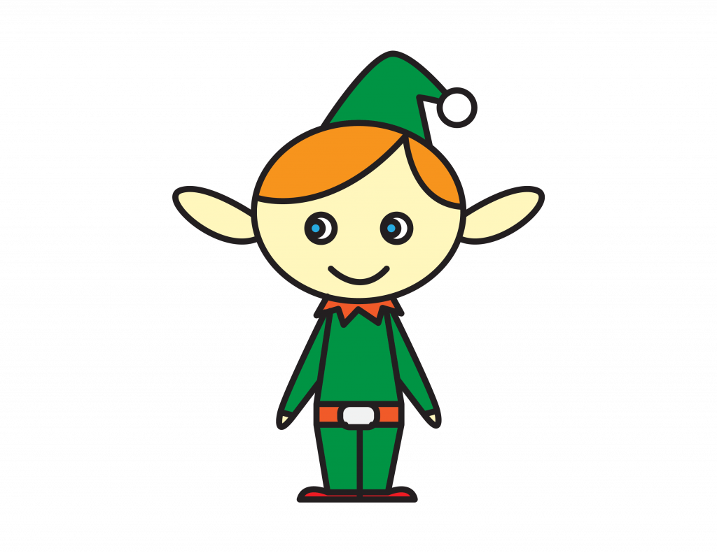 How To Draw Tutorials For Kids ELF XMAS HOLIDAY ELVES Step by step for kids easy simple guide