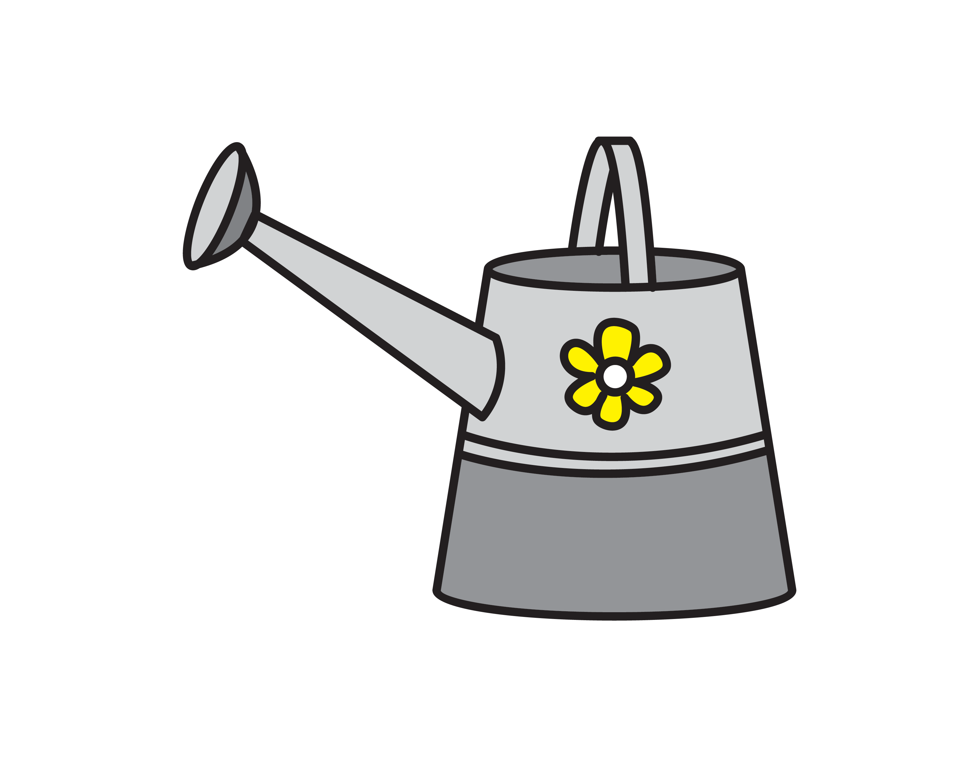 How To Draw a Watering Can (Easy Starting Art Guides for Kids)