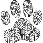 KITTY CAT PET COLORING PAGES FOR KIDS-32-FREE KITTEN MOSAIC MANDALA CALMING SHEET FOR KIDS ADULTS