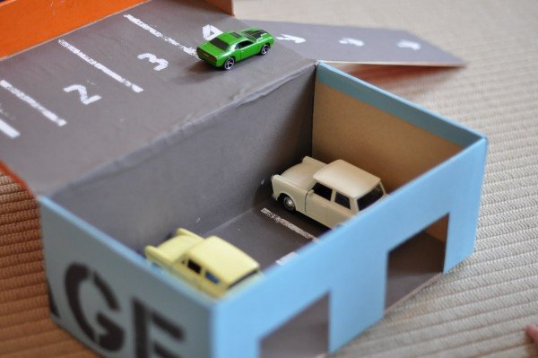 DIY shoebox garage
